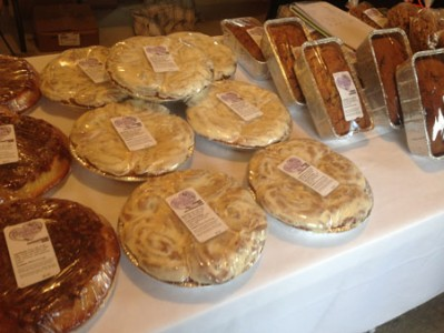 Amish baked goods - shelby farmers market 2016