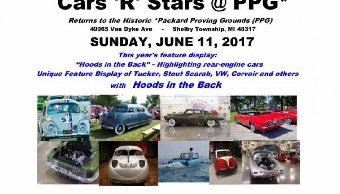 Cars 'R' Stars 2017
