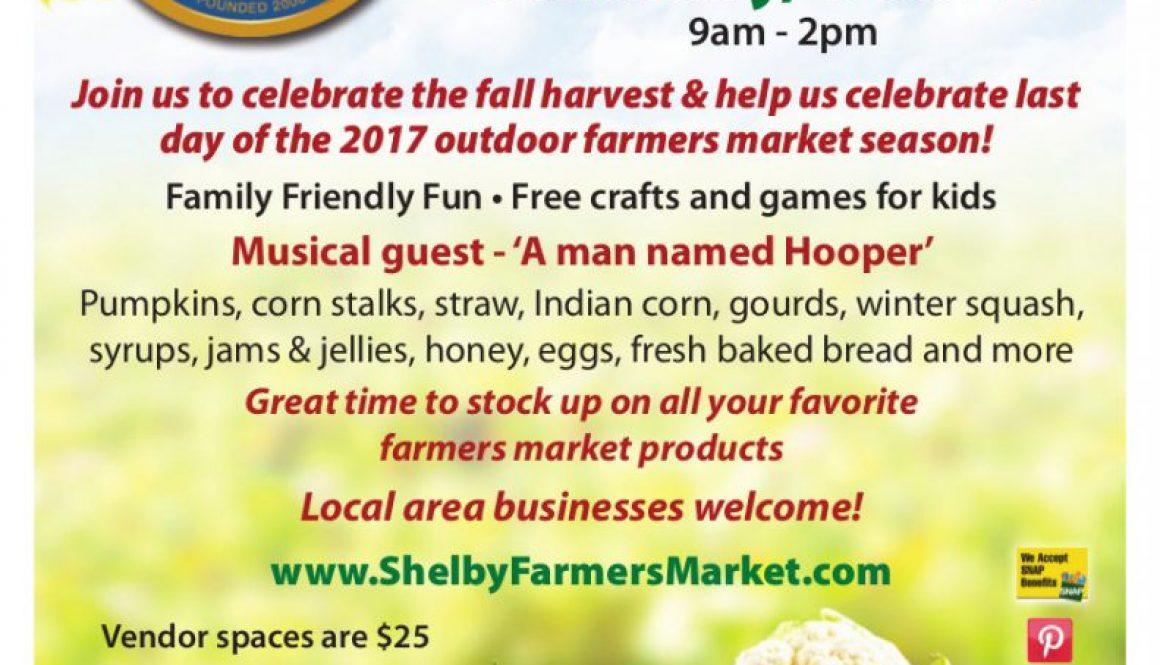 Harvest Fest Flyer 2017